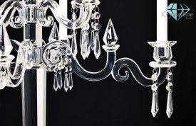 candelabra-candle holder-crystal-Empire