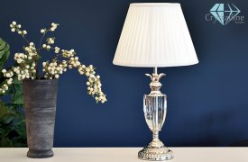 table lamp-crystal-lighting-Rosanna