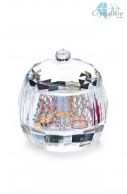 jewlery box-crystal-bowl-Rose