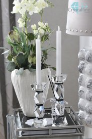 candle holder-crystal-Royal