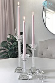 candle holder-crystal-Silhouette