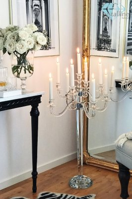 candelabra-candle holder-crystal-Eclipse
