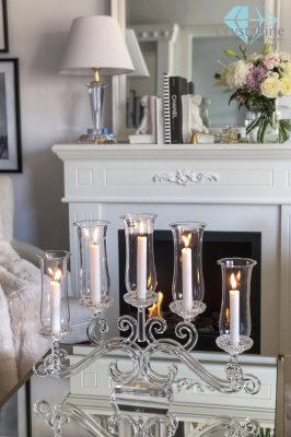 candelabra-candle holder-candlestick-crystal-Evivy
